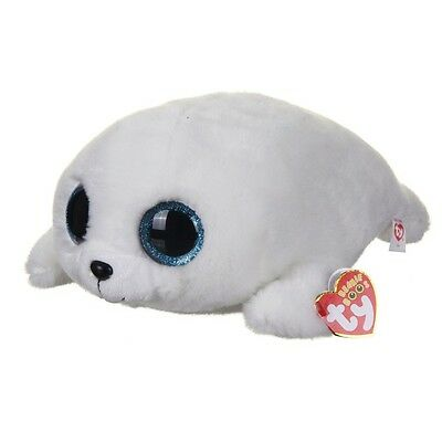 TY Beanie Boo Icy White Seal Large
