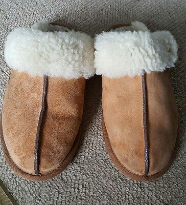 Ladies Women's Uggs mule Slippers Size Uk 7.5