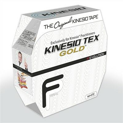 **AUTHENTIC KINESIO TEX GOLD FP TAPE BULK 2in x 34yds KINESIOLOGY TAPE White **