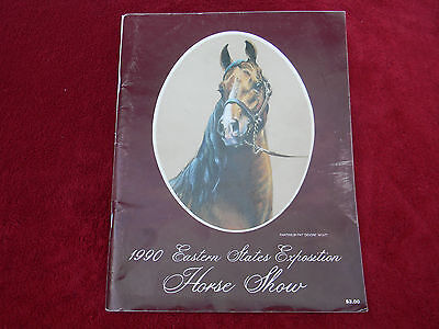 1990 Eastern States Exposition Horse Show Program