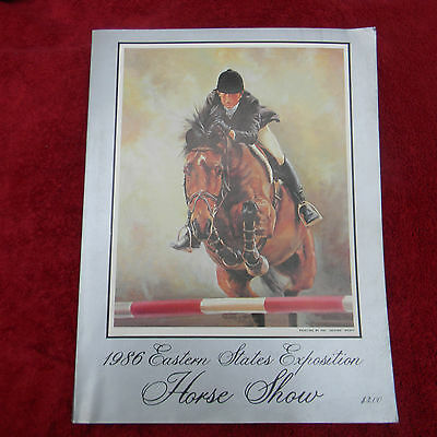 1986 Eastern States Exposition Horse Show Program