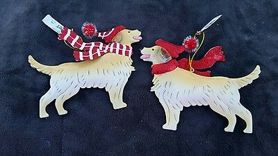 Golden Retriever Dog Christmas Ornament by Pier 1 Imports
