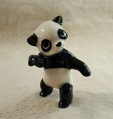 Hagen renaker miniature panda bear figurine Collectible