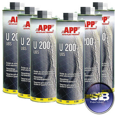 6L Underbody Coating Chip Protection Noise Supression Ubs Top