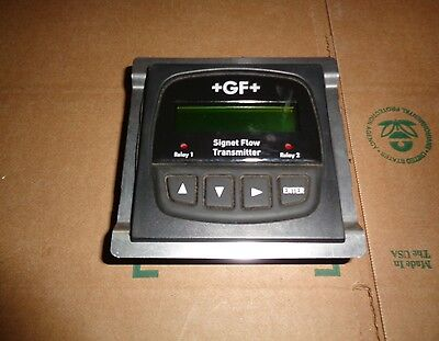 Gf Signet # 3-8550-2P Flow Transmitter - New!