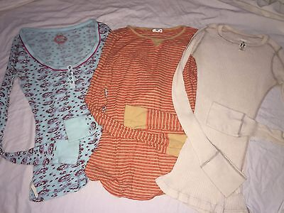 Lots Of 3 Free People  Top T-Shirt  Size M - M - S