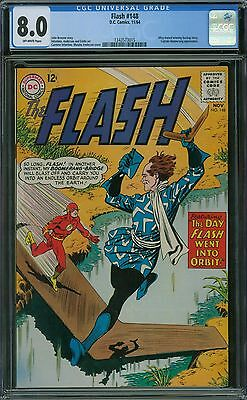 Flash 148 CGC 8.0 - OW Pages