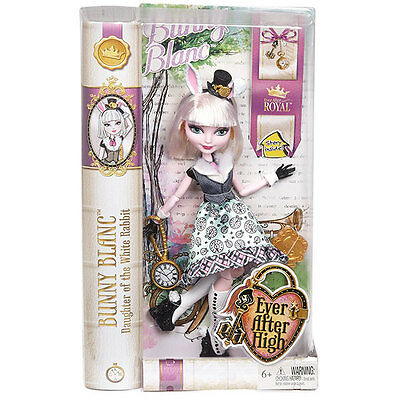 Ever After High Bunny Blanc Doll - Brand New