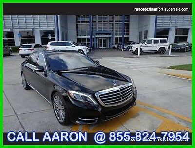 2015 Mercedes-Benz S-Class S550 2015 S550 Used Certified Turbo 4.7L V8 32V Automatic Rear Wheel Drive Sedan