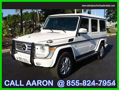 2014 Mercedes-Benz G-Class G550 2014 G550 Used Certified 5.5L V8 32V Automatic All Wheel Drive SUV Premium