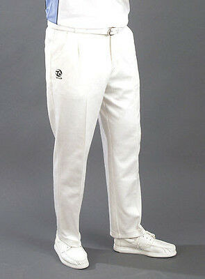 Taylor Mens White Sports Bowls Trousers Size 38/29