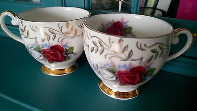 Two Vintage QUEEN ANNE 112 Bone china tea cup - Replacement VGC
