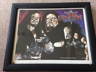 Wwe Wwf The Undertaker By Rob Larson Picture
