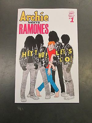 ARCHIE MEETS RAMONES ONE SHOT 2ND PRINTING VARIANT Archie Comics The Ramones HOT