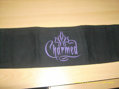 Charmed Prop Page Rose Mcgowan Cast Chair Back Rare  Signed