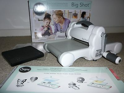 Sizzix Big Shot Shape Cutting and Embossing Machine - With Extended Plates