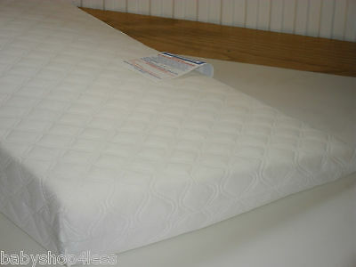 Lift Saftey Reflux Wedge Pillow Mattress Breath Easy Cot Brand  New