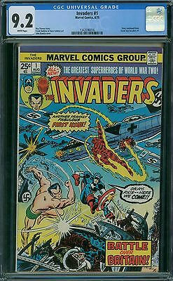 Invaders 1 CGC 9.2 - White Pages