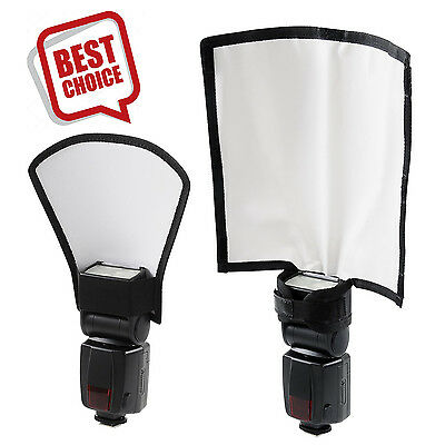 Flash Reflector Diffuser Kit Bend Bounce Positionable Diffuser Reflector Silver