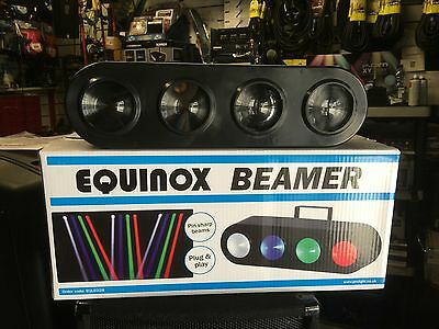 EQUINOX Beamer Sharp Pinspot Bank LED Light Disco Party Lighting Effect **BNIB**