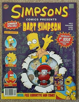 Bart Simpsons Issue 1 (2001) - FIRST PRINT