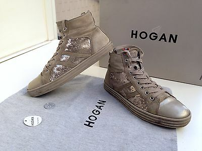 Scarpe Hogan N.37 Originali Rebel Donna Interactive Shoes Woman Size