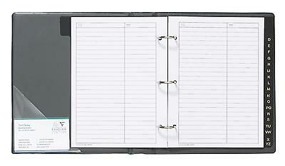 NEW! A5 Telephone Address Book - Blue / Index Office
