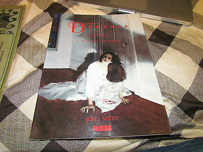 Dracula: A Symphony In Moonlight And Nightmares SC Jon J Muth '92 Book