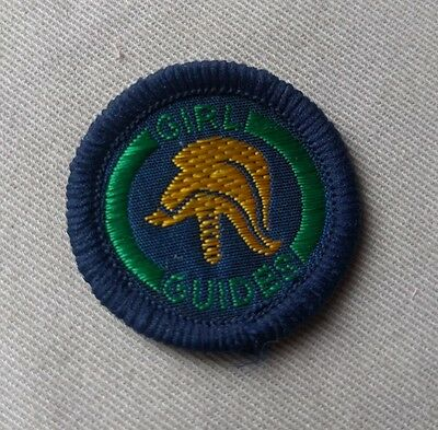 Vintage, New Girl Guides Badge Fire Fighter