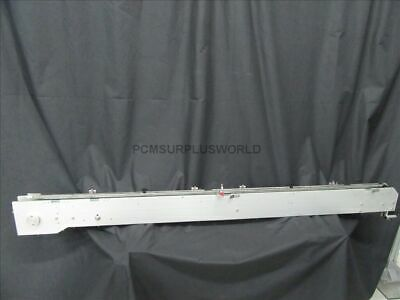 "Polycord Blister Conveyor 1.75"" X 76"" With Motor 200-230 VAC ( Used and Tested )"