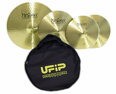 Ufip M8-Set A - Set Piatti (Hi-Hat 14'/crash 16'/ride 20')