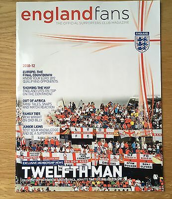 England Fans Official Supporters Club Magazine 2010-12