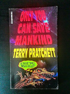 Only You Can Save Mankind by Terry Pratchett (Fantasy Adventure Fun)