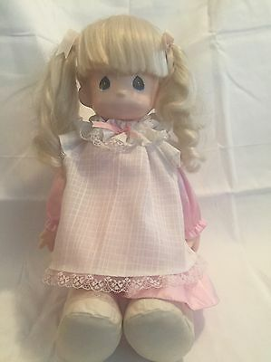 "From the late 1980's Precious Moments ""Missy"" Girl doll Vintage 15"""