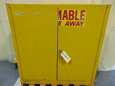 30 Gallon Flammable Liquid Paint Storage Safety Cabinet