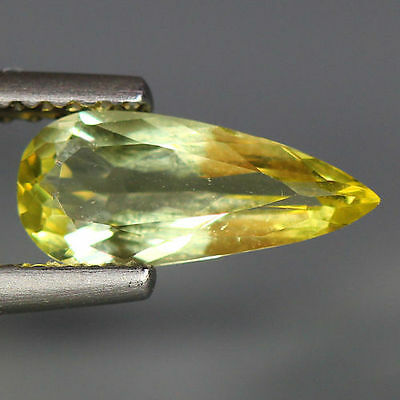 0.85 Cts_Wow Unbelivable Brazilian Gemstone_100 % Natural Heliodore Yellow Beryl