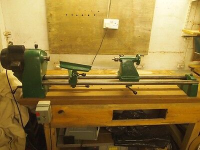 Coronet Wood Turning Lathe Complete with all tools and equipment.