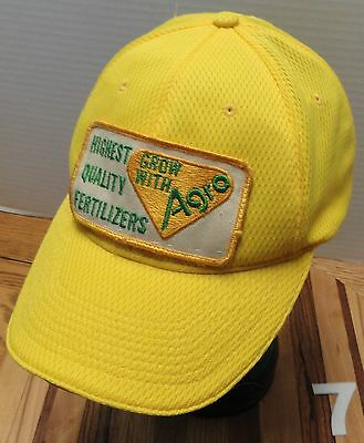 Agra, Highest Quality Fertilizers, Yellow Polyester, Baseball Hat, Osfm, Guc!!