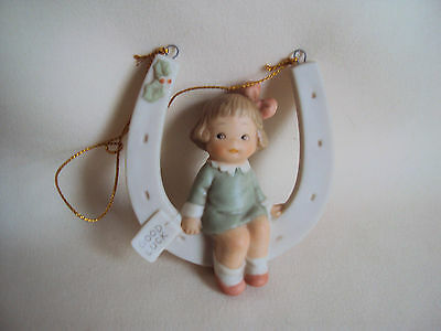 Vintage 1991 Enesco Lucky You Figurine In Box