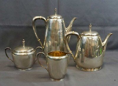 """Reed And Barton """"town &country"""" Sterling Silver Complete 4-Piece Tea/coffee Set"""