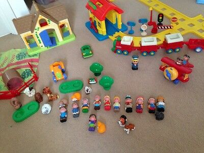Fisher Price Little People Farm And Train Set