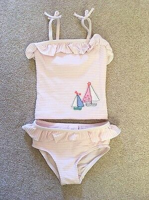 Baby Girls Tanking/swimsuit Next 6-9 Months