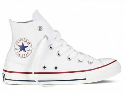 CONVERSE ALL STAR M7650C Hi Optic White Alta Bianca 7650 m7650 3J253C