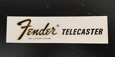 70's style Fender Telecaster Headstock Waterslide Decal