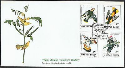 1985 Audubon 'Birds of the World' FDC with set of 4 TS568