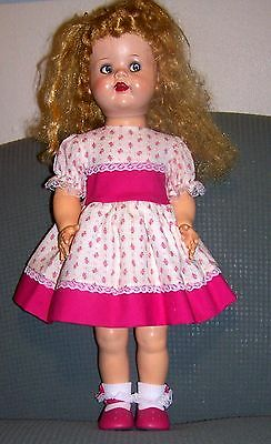 """2 pc fashion for 22"""" Saucy or Posie Walker, complete w/shoes & laced socks #4"""