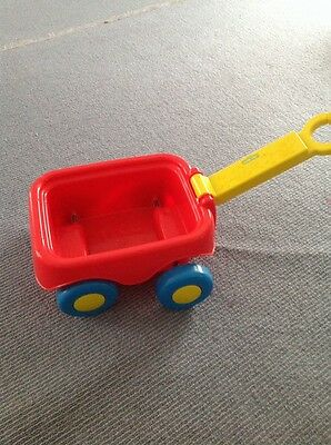 Kids Toy Sesame Street Wagon