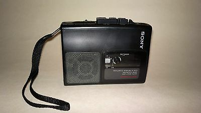 Vintage Sony tape player cassette-corder TCM-S65 voice recorder with counter