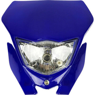 Ballards NEW Mx Yamaha WR250F 07-14 WR450F 07-11 Blue Dirt Bike Enduro Headlight