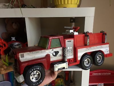 Vintage Antique NYLINT Fire Truck Toy Vehicle
